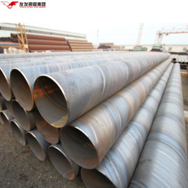 Tianjin ASTM A252 Construcción de tubería soldada en espiral Apilamiento de tuberías