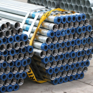 ASTM A53 threaded galvanized steel pipe 1 1/4 inch
