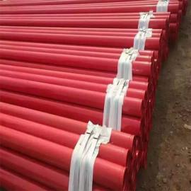 FM شهادة ASTM A135 A795 المجلفن الأحمر المجلفن ينتهي الأنابيب الفولاذية
