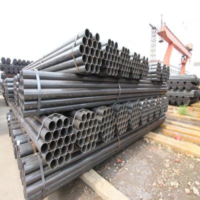 Tianjin Youfa marca Q195 Q235 Q345 ERW tubo redondo de acero al carbono soldado