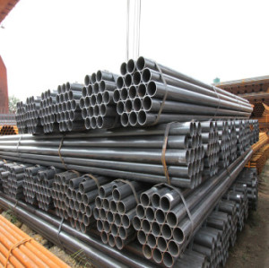 1 1/2 inch ERW carbon steel pipe, galvanized steel tube price per kg per ton per meter