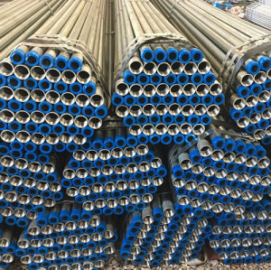 galvanised flexible metal tube / galvanized steel pressure steel pipe with best quality