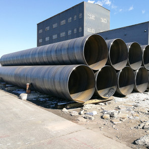 Spiral steel pipes used for Hydro power project or transportation waters or sand stone