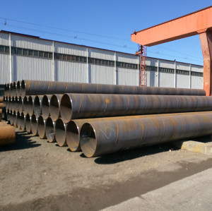 Tianjin Youfa Brand high quality  q345b  spiral welded steel pipe