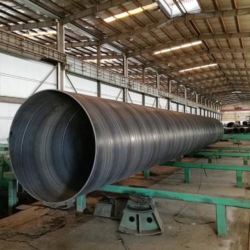 Tubos de acero de soldadura en espiral YOUFA SSAW para tubos de pilotaje de construcción