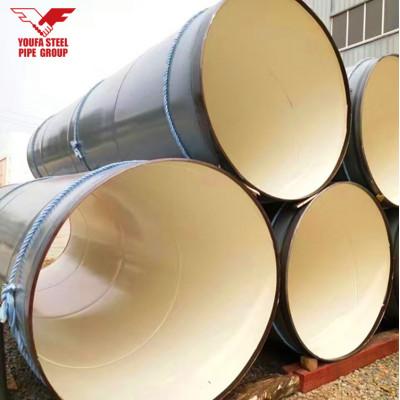 Tianjin Youfa Brand tubo de acero en espiral de gran diámetro tubo de acero de 1800 mm