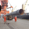 Spiral steel pipes/ SSAW pipes used for construction project