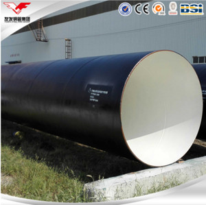 YOUFA  Q345B spiral welded steel pipe large diameter corrugated steel pipe