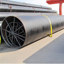 Construction/piling steel pipes-SSAW Spiral welded steel pipes