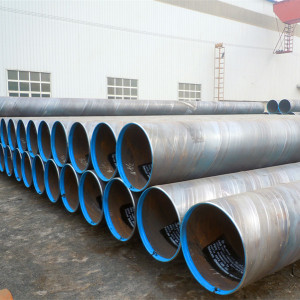 Piling steel pipes-SSAW Spiral welded steel pipes