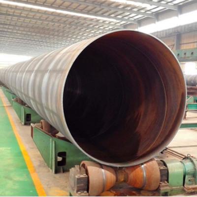 Tubo de acero en espiral de carbono Q235 SSAW para dragado y pilling