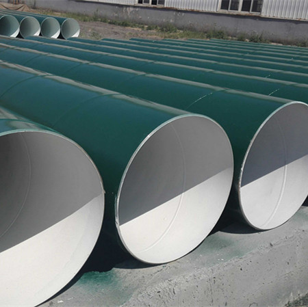 Q235 SSAW carbon spiral steel pipe for dredging and pilling