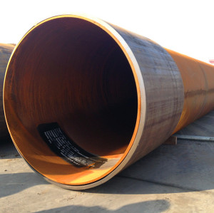 ASTM A252 GR.3 Construction/piling steel pipes-SSAW Spiral welded steel pipes