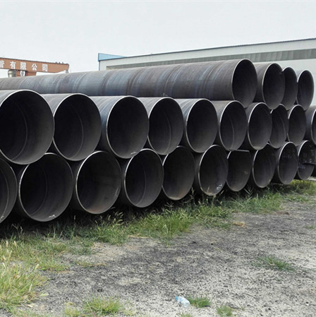 YOUFA manufacture ASTM A252 steel pipe SSAW steel pipe construction pipe