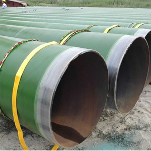 Hydro power project or transportation waters or sand stone used pipes-SSAW Spiral welded steel pipes