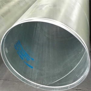 Grooved ends galvanized spiral steel pipes with API 5L standard from YOUFA