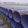 3PE coated SSAW Spiral welded steel pipes