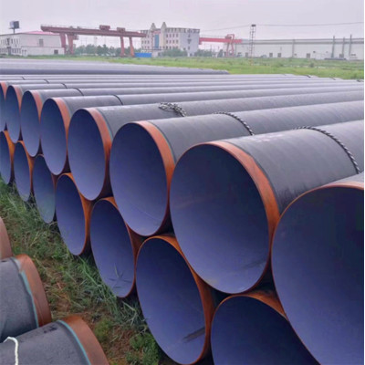 3PE coated SSAW Spiral welded steel pipes from YOUFA
