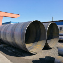 API 5L X52 piling steel pipes-SSAW Spiral welded steel pipes