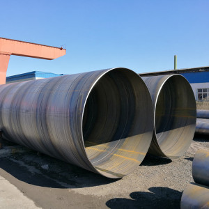 API 5L X52 piling steel pipes-SSAW Spiral welded steel pipes from YOUFA