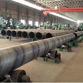 YOUFA ASTM A252 GR.2 ، GR.3 مادة / أنابيب الصلب البناء