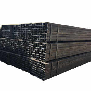 low carbon erw steel tube square hollow rectangular steel tube