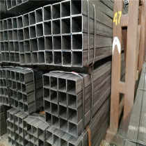 Building material Q195/Q235 erw welded square structure steel pipe tube