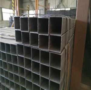 YOUFA manufacture 1 inch black square steel tubing prices for sale