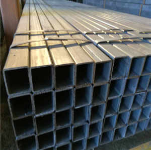 S235JR hot dipped Galvanized Welded Rectangular Square Steel Pipe Tube Hollow Section SHS RHS