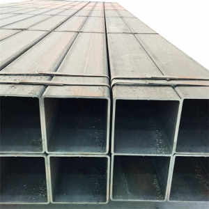 BS1387 ASTM A500 low carbon erw steel tube square hollow rectangular round steel tube