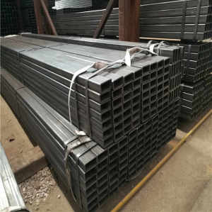 Hot Rolled Black Annealing Rectangular Square Steel Pipe Tubes Hollow Section