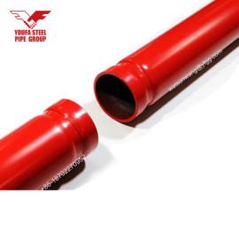 أنابيب الرش النار باللون الأحمر رسمت من YOUFA