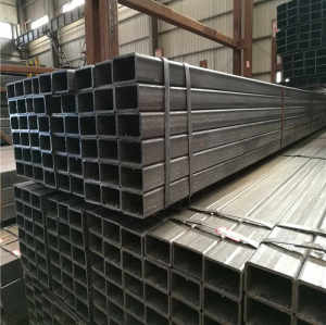 carbon steel pipe rectangular and square section tube building material