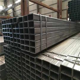 Tubo de acero al carbono rectangular y tubo cuadrado de material de construcción