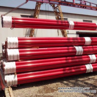 Tubo de acero ASTM A795 para extinción de incendios con certificación FM