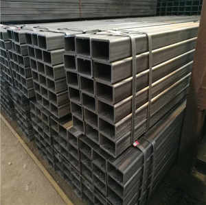 HR square tube iron fence/cast iron tube