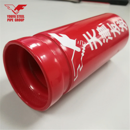 ASTM A795 ERW Welded Fire Pipe with grooved pipe from YOUFA
