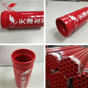 Steel Fire Pipe with Thickness Sch10 and More Sizes