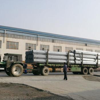 S235 JRS galvanized pipe 6 inch galvanized steel pipe sizes