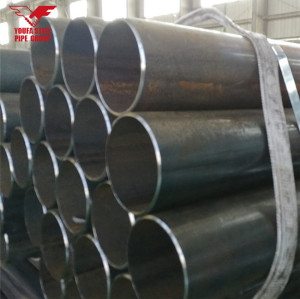 Youfa brand ERW carbon mild round steel pipe steel round tube