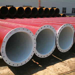 SSAW Spiral welded steel pipes used for transportation waters or sand stone