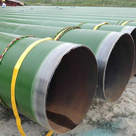 Spiral welded steel pipes used for water or gas or oil