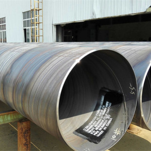 X52 material API 5L standard Spiral welded steel pipes