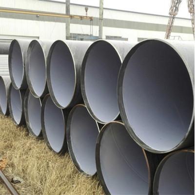 API 5L x52 para tubería de aceite de tubería de acero al carbono soldada en espiral