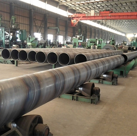 API 5L x52 for oil pipeline spiral welded carbon steel pipe