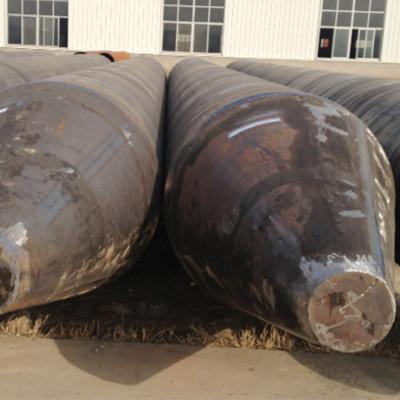 ASTM A252 construcción / pilotes de tubos de acero-SSAW Tubos de acero en espiral