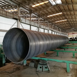 Construction/piling SSAW Spiral welded steel pipes