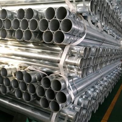 Tubo de acero galvanizado con extremos de ranura enrollada con aprobación UL y FM