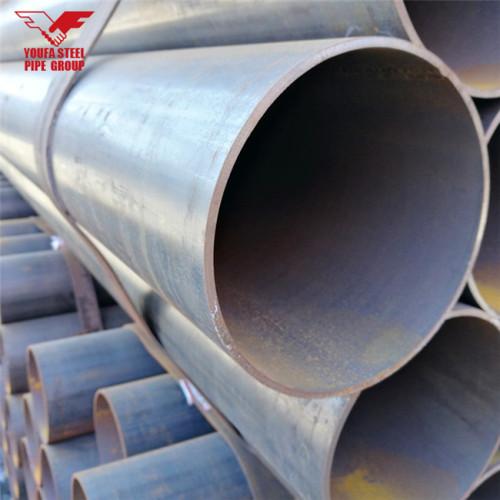 Youfa fabricante marca 1/2 pulgada a 12 pulgadas, tubo de hierro negro de 3 pulgadas