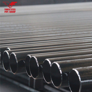 YOUFA Brand manufacture ERW black carbon steel pipe price per ton